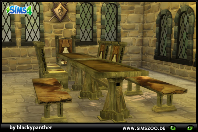Medival Tavern Set by blackypanther at Blacky's Sims Zoo image 2255 Sims 4 Updates
