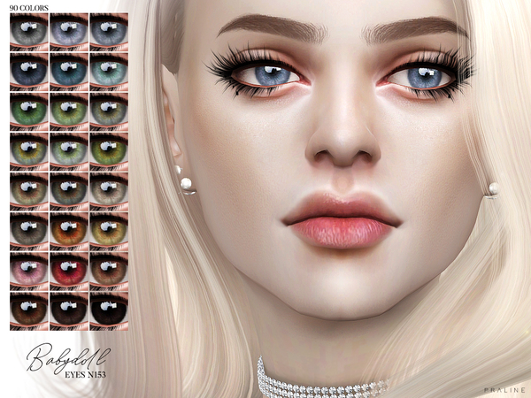 Babydoll Eyes N153 by Pralinesims at TSR image 2318 Sims 4 Updates