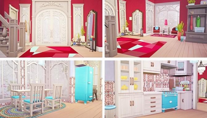 Sims 4 Cozy Winter Cottage at Savara's Pixels