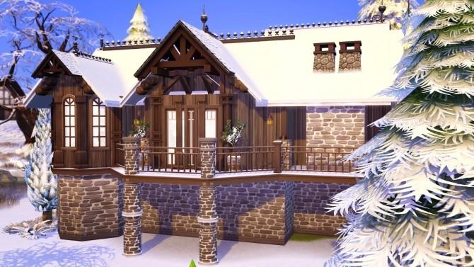 Sims 4 Lake house at Akai Sims – kaibellvert