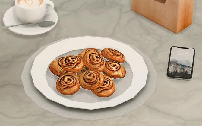 Cinnamon Rolls at Josie Simblr image 2413 670x421 Sims 4 Updates