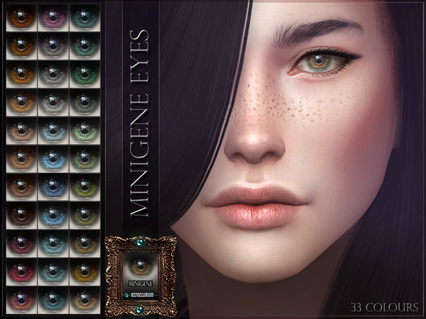 Minigene Eyes Facepaint by RemusSirion at TSR image 2437 Sims 4 Updates