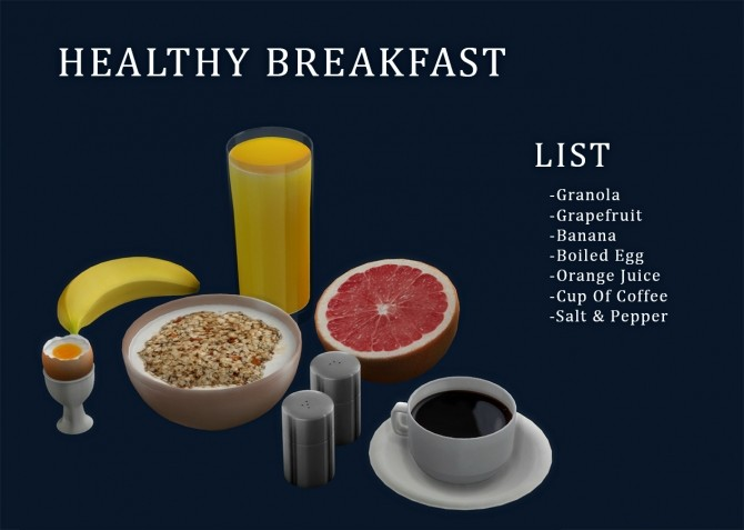 Healthy Breakfast set (P) at Leo Sims image 2461 670x477 Sims 4 Updates