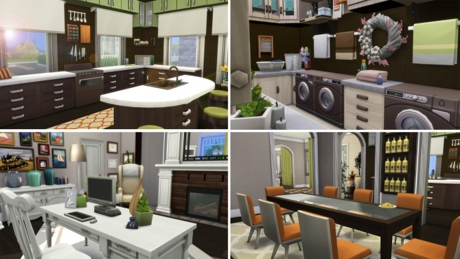 Sims 4 Family house at Anna Frost