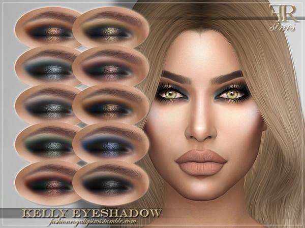 Sims 4 FRS Kelly Eyeshadow by FashionRoyaltySims at TSR