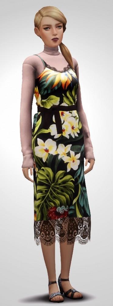 Milano Dress at Nyuska image 2531 371x1000 Sims 4 Updates
