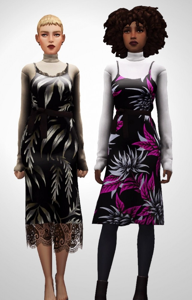 Milano Dress at Nyuska image 2541 641x1000 Sims 4 Updates