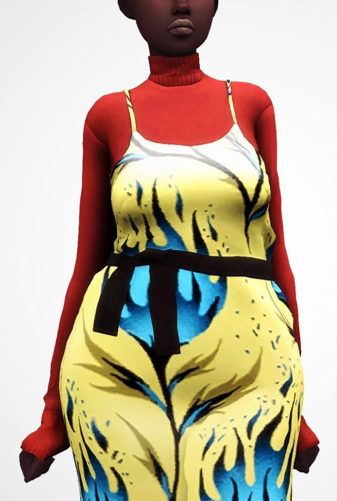 Milano Dress at Nyuska image 2551 670x994 Sims 4 Updates