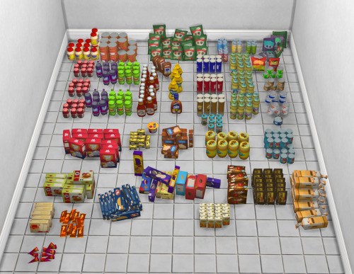 Life Is Strange 2 Store Shelf Clutter at Josie Simblr image 2581 Sims 4 Updates