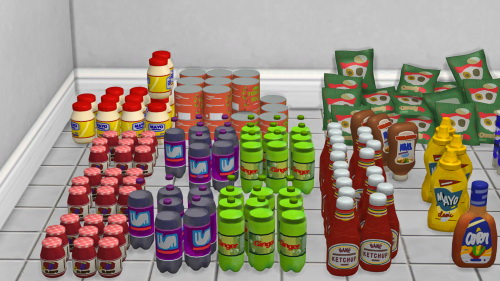 Life Is Strange 2 Store Shelf Clutter at Josie Simblr image 2591 Sims 4 Updates