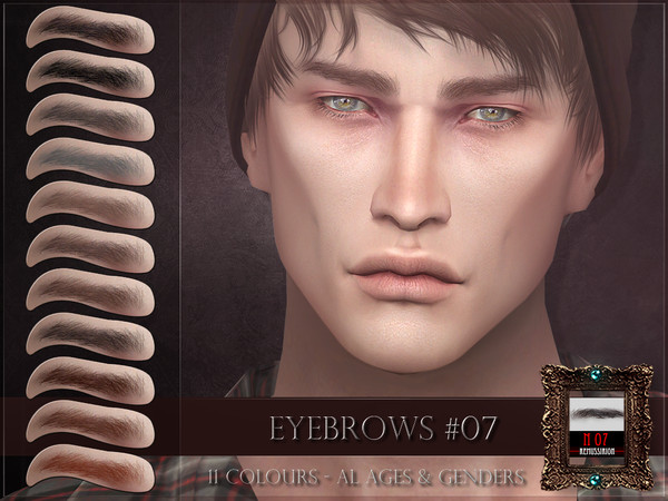 Eyebrows 07 by RemusSirion at TSR image 2613 Sims 4 Updates