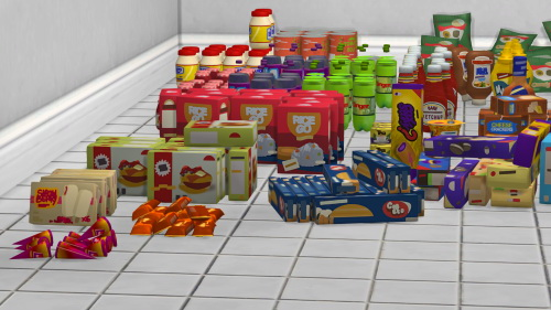 Life Is Strange 2 Store Shelf Clutter at Josie Simblr image 2618 Sims 4 Updates