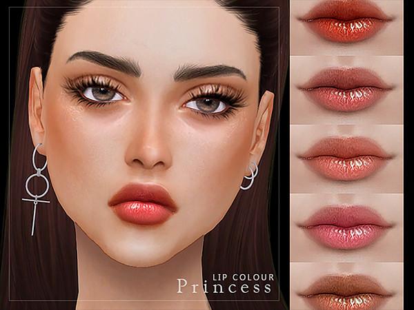 Sims 4 Princess Lip Colour by Screaming Mustard at TSR