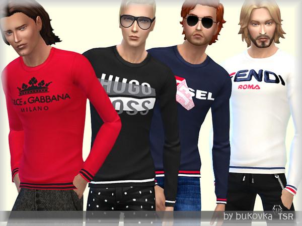 Sims 4 Shirt Longsleeve by bukovka at TSR
