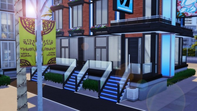 Sims 4 WardPark Drive 17 apartment at Anna Frost