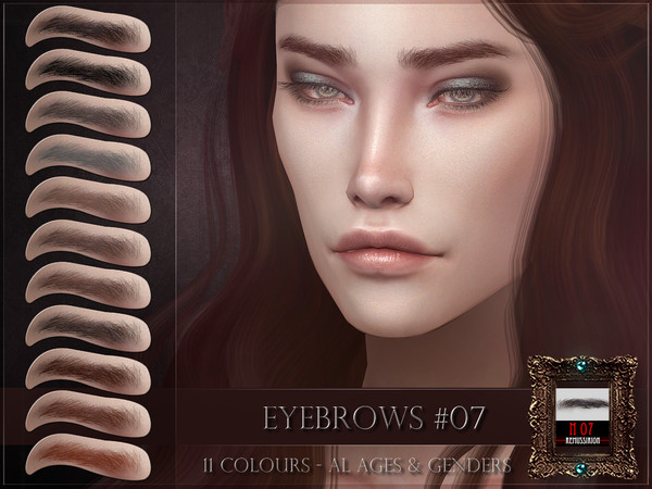 Eyebrows 07 by RemusSirion at TSR image 2713 Sims 4 Updates