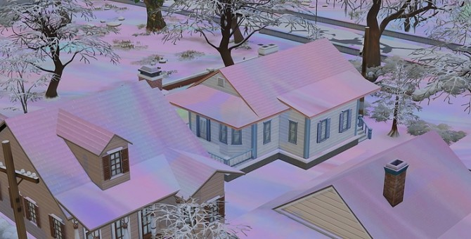 Its Holographic Snow at KAWAIISTACIE image 2721 670x340 Sims 4 Updates