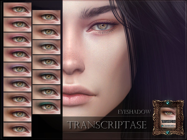 Sims 4 Transcriptase Eyeshadow by RemusSirion at TSR