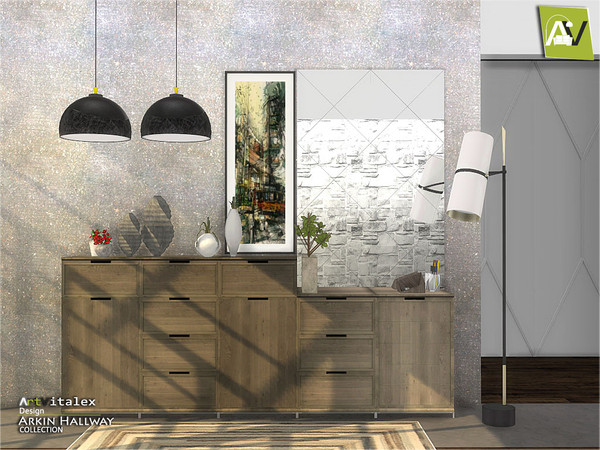 Arkin Hallway by ArtVitalex at TSR image 2811 Sims 4 Updates