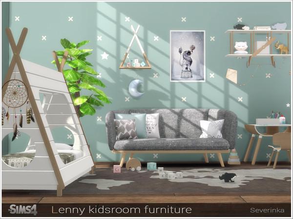 Lenny Kidsroom Furniture By Severinka At Tsr 187 Sims 4 Updates