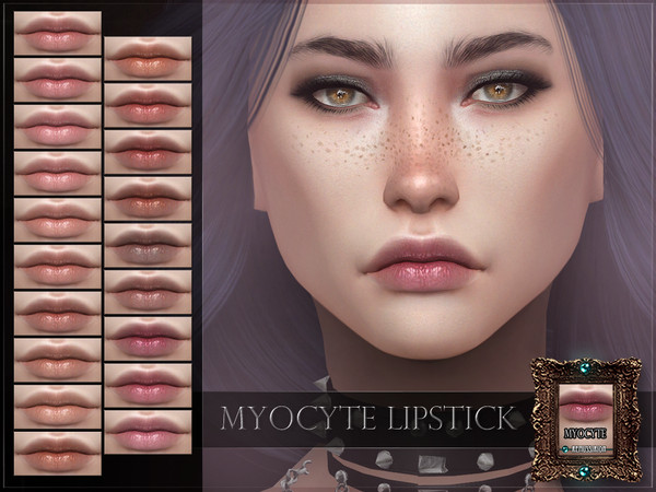 Myocyte Lipstick by RemusSirion at TSR image 2814 Sims 4 Updates