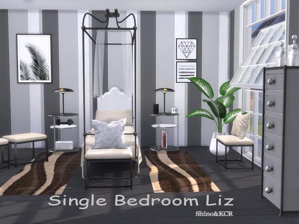 Single Bedroom Liz by ShinoKCR at TSR image 2815 Sims 4 Updates