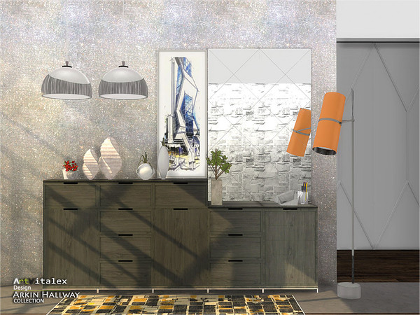 Arkin Hallway by ArtVitalex at TSR image 2913 Sims 4 Updates