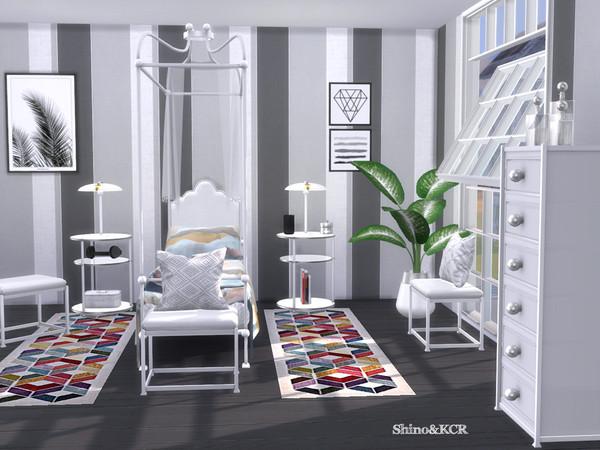 Single Bedroom Liz by ShinoKCR at TSR image 2917 Sims 4 Updates