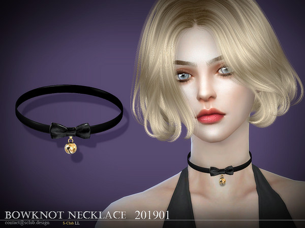 Necklace 201901 by S Club LL at TSR image 2935 Sims 4 Updates