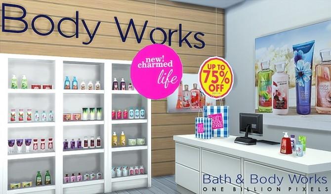 Sims 4 Bath & Body Works Career at KAWAIISTACIE