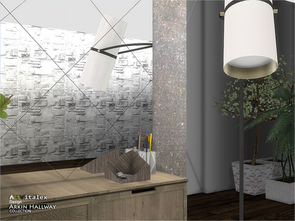 Arkin Hallway by ArtVitalex at TSR image 3012 Sims 4 Updates