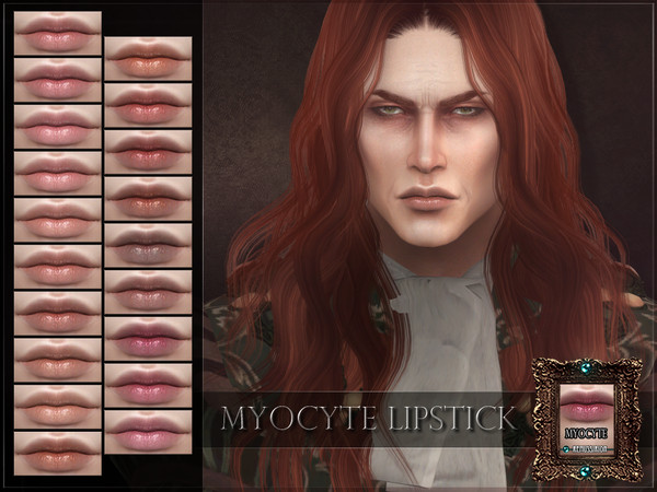 Myocyte Lipstick by RemusSirion at TSR image 3015 Sims 4 Updates