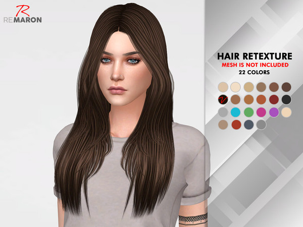 Emily Hair Retexture by remaron at TSR image 3108 Sims 4 Updates