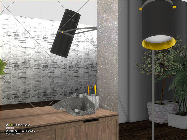 Arkin Hallway by ArtVitalex at TSR image 3113 Sims 4 Updates