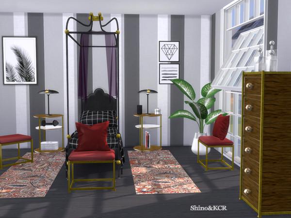 Single Bedroom Liz by ShinoKCR at TSR image 3117 Sims 4 Updates