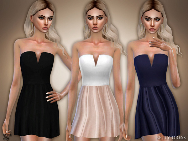 Betty Dress by Black Lily at TSR image 3123 Sims 4 Updates