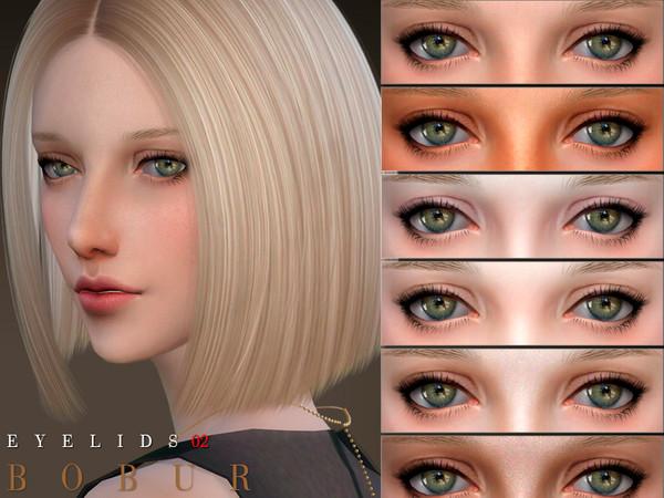 Sims 4 Eyelids 02 by Bobur3 at TSR