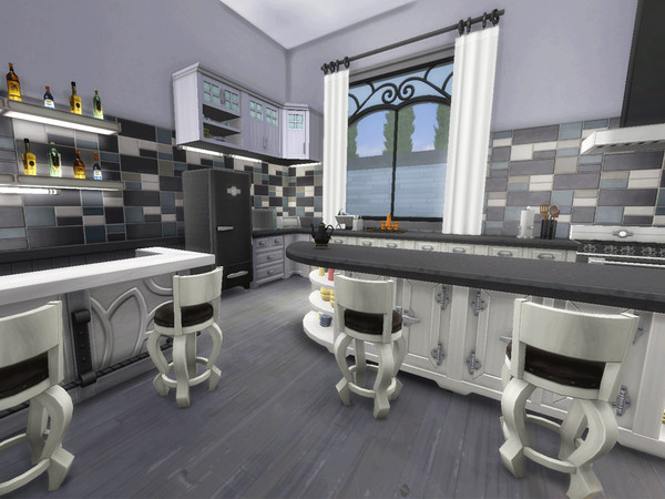Semi Detached Modern Family Mansion by CandanceLakes at TSR image 3201 Sims 4 Updates
