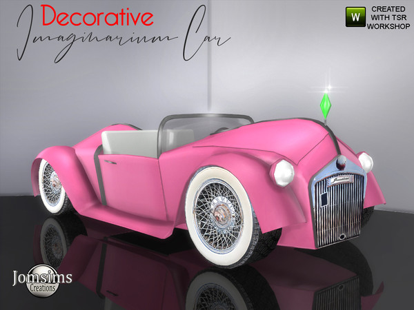 Sims 4 Imaginarium car (Decorative) by jomsims at TSR
