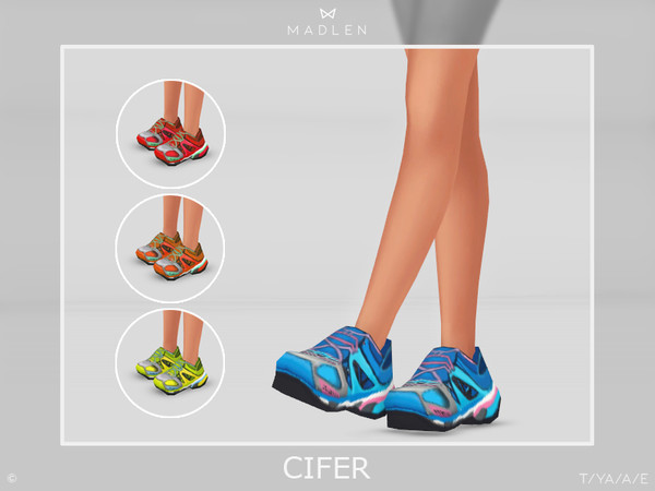 Madlen Cifer Shoes by MJ95 at TSR image 3216 Sims 4 Updates