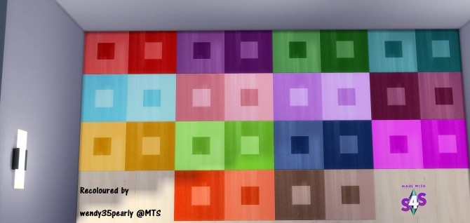 EP01 Inversely Square Linoleum 14 Colours by wendy35pearly at Mod The Sims image 3220 670x318 Sims 4 Updates