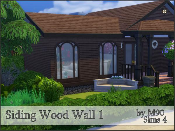 M90 Siding Wood Wall 1 by Mircia90 at TSR image 3221 Sims 4 Updates