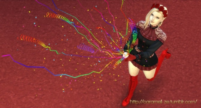Party Popper and 3 Poses at Caramelize image 328 670x360 Sims 4 Updates