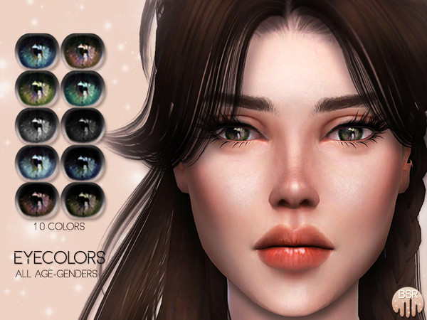 Eyecolors BES09 by busra tr at TSR image 3291 Sims 4 Updates