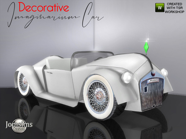 Imaginarium car (Decorative) by jomsims at TSR image 3312 Sims 4 Updates