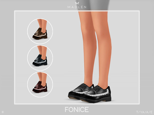 Sims 4 Madlen Fonice Shoes by MJ95 at TSR