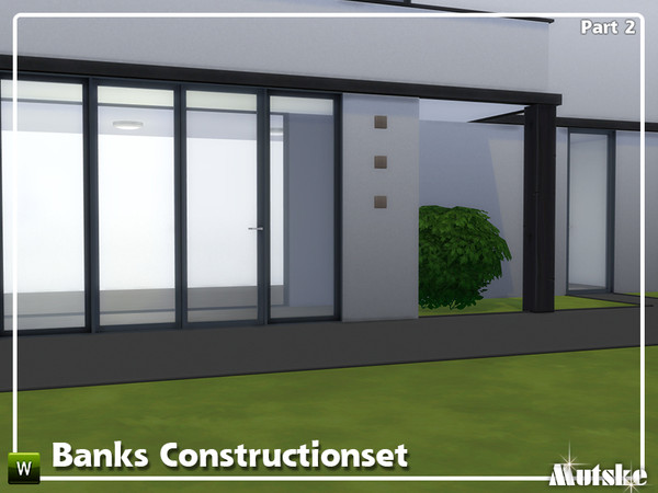Sims 4 Banks Construction set Part 2 by mutske at TSR