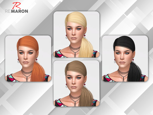 Sims 4 Twinkle Hair Retexture by remaron at TSR
