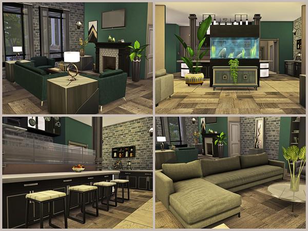 Sims 4 Cedarwood Estate by Xandralynn at TSR