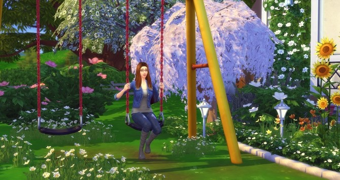 Sarah Vanture by Angerouge at Studio Sims Creation image 3410 670x355 Sims 4 Updates